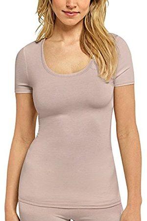 Women Vests & Camis - Schiesser Women's Personal Fit Shirt 1/2 Arm Vest, -Braun (Braun 300)