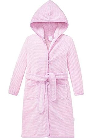 Girls Bathrobes - Schiesser Girl's Bademantel Bathrobe, -Rot (Rosa 503)