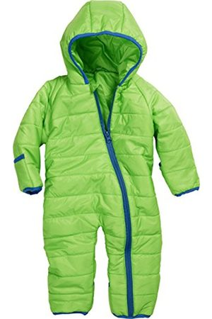 Girls Ski Suits - Schnizler Baby Puffer Overall Lightweight Quilted Hooded Snowsuit