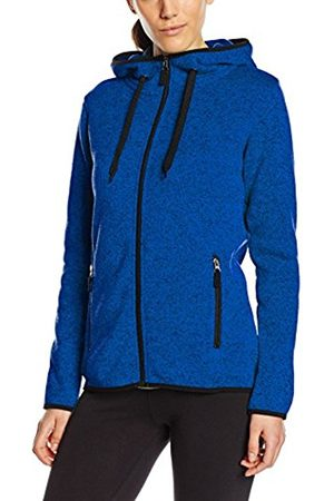 Women Jackets - Stedman Apparel Women's Active Knit Fleece Jacket Long Sleeve Sports Knitwear