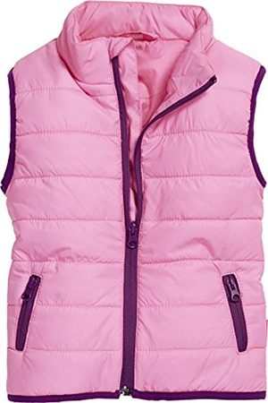 Girls Bodywarmers & Gilets - Playshoes Girl's Puffer Vest Lightweight Quilted Gilet