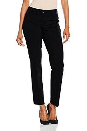 Women Trousers - More & More Women's Hedy Konfektionshose Trousers, -Schwarz ( 0790)
