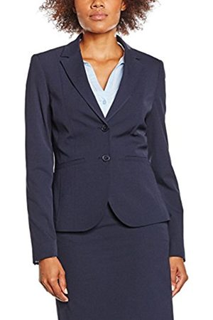 Women Blazers - More & More Women's Sally Blazer, -Blau (Marine 0375)
