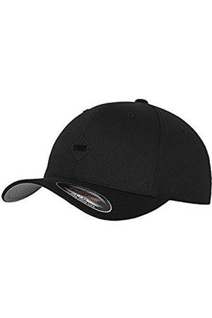 Men Hats - Urban classics Leatherpatch Flexfit Baseball Cap