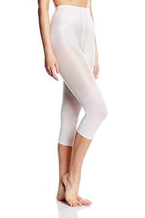 Women Leggings & Treggings - Belly cloud Women's Figurformende Model-up Legging Support Stockings, 70 Den, -Weiß (Weiß 099)