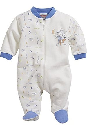 Bathrobes - Schnizler Unisex Baby Pyjama Overall Interlock Mouse Sleepsuit