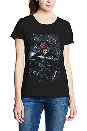 Marvel Women's Captain America Civil War Widow Breakout T-Shirt