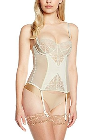 Women Bustiers - Wonderbra Women's Refined Glamour Basque Bustier