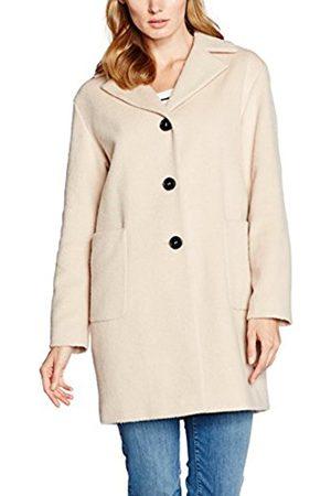 Women Jackets - Gerry Weber TAIFUN by Women's Outerwear 4 Jacket, - (Creme Brulee 90369)