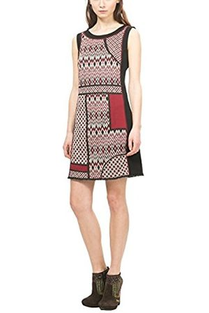 Women Dresses - Desigual Women's Vest_damara Knee-Length A-Line Short Sleeve Dress