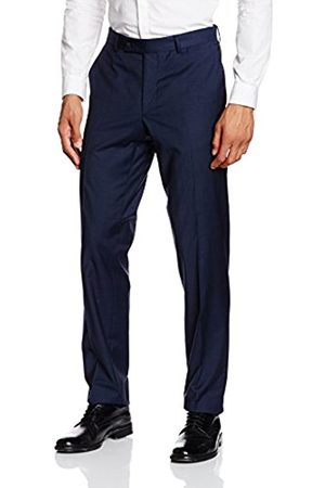 Men Trousers - Daniel Hechter Men's Nos Trend Suit Trousers, -Blau (Navy 680)