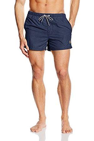 Miami Beach Swimwear Men's Mike Swim Shorts, (dark navy)