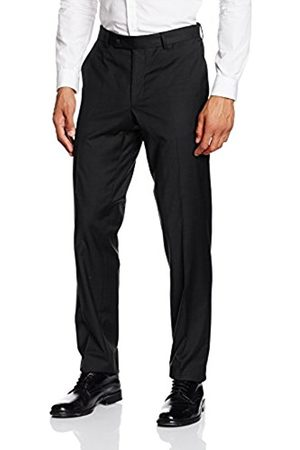 Men Trousers - Daniel Hechter Men's Nos Trend Suit Trousers, -Schwarz ( 990)