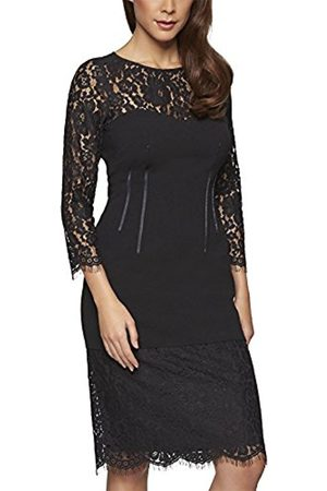 Women Dresses - Women's Kleid Dress, -Schwarz (Schwarz 0)