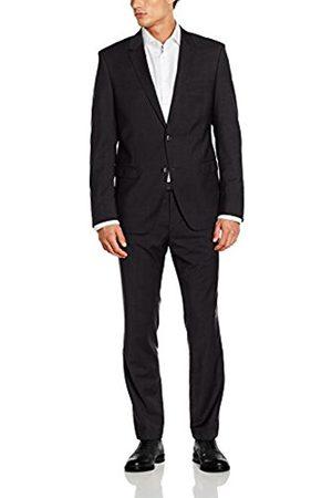 Men Suits - Bugatti Men's 683000-99801 Suit, -Grau (Anthrazit 56)