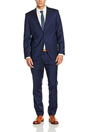 Men Suits - Bugatti Men's 684000-99801 Suit, -Blau (Blau 44)