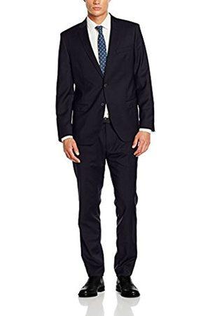 Men Suits - Bugatti Men's 684000-99801 Suit, -Blau (Dunkelblau 42)