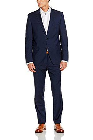 Men Suits - Bugatti Men's 683000-99801 Suit, -Blau (Blau 44)