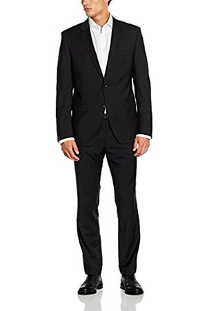 Men Suits - Bugatti Men's 683000-99801 Suit, -Schwarz (Schwarz 59)