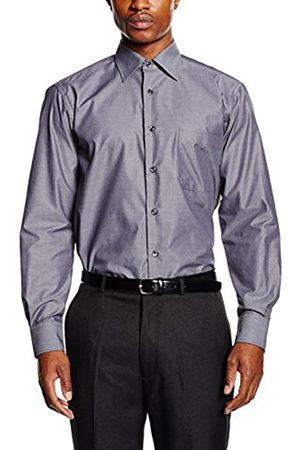 Men Business - Men's Carlo Formal Shirt, (anthrazit)