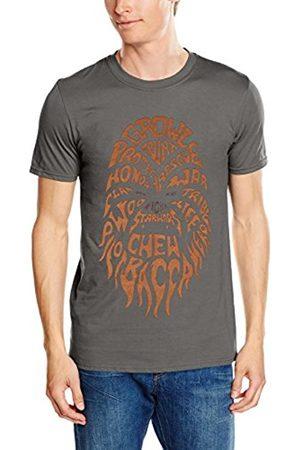 Men Short Sleeve - STAR WARS Men's Chewbacca Text Short Sleeve T-Shirt