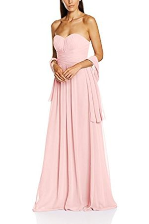 Women Dresses - Women's Cross Waist Pleat Dress