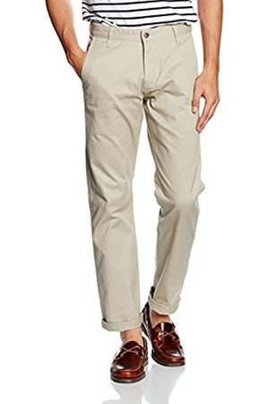 Men Slim & Skinny Trousers - Dockers Men's BIC ALPHA ORIGINAL SLIM TAPERED - STRETCH TWILL Trouser