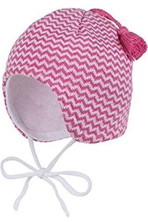 Hats - maximo Baby Girls' Mütze, Ausgenäht Mit Bindband, Quaste Hat