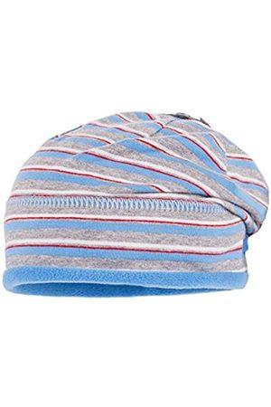 Beanies - maximo Baby Boys' Beanie, Short Hat, Multicoloured-Mehrfarbig (Azurblau-Ermelino 1210)