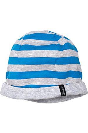 Boys Beanies - Sterntaler Boy's Wende-Slouch-Beanie Hat, -Blau (Azurblau 396)