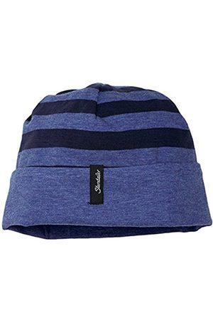 Boys Beanies - Sterntaler Boy's Wende-Slouch-Beanie Hat, -Blau (Marine 300)