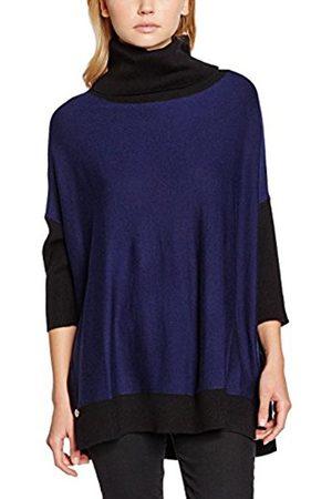Women Long Sleeve - Yumi Women's Colour Block Oversized Roll Neck Long Sleeve Jumper