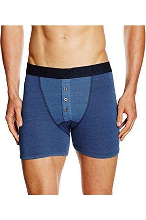 Boys Boxer Shorts - Levi's Men's 300LS Indigo Long Boxer 1P Boy Short