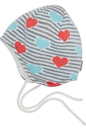 Hats - Sterntaler Baby Girls' Strickmütze Hat, - (Ecru 903)
