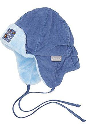 Hats - Sterntaler Baby Boys' Fliegermütze Hat, -Blau (Nachtblau 366)
