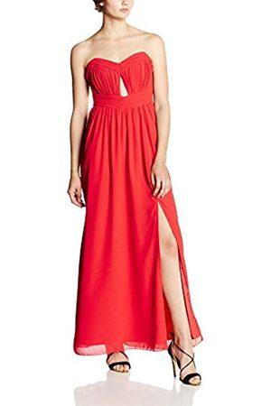 Women Maxi Dresses - Little Mistress Women's Cut Out Bandeau Maxi Plain Sleeveless Dress