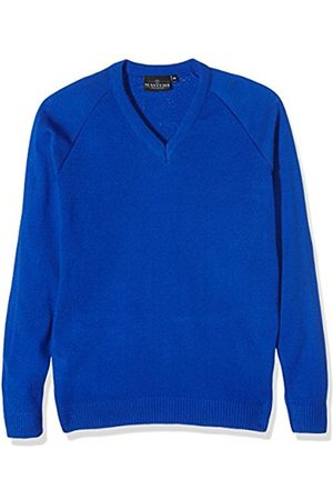 Boys Jumpers & Cardigans - Boy's Unisex V Neck Knitted School Jumper
