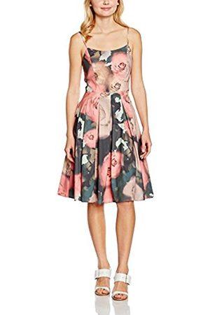 Women Party & Evening Dresses - Yumi Women's Floral Prom Evening Sleeveless Dress