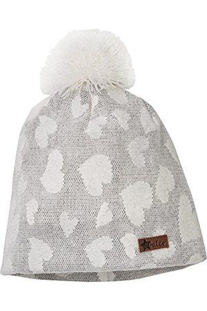 Girls Beanies - Sterntaler Girl's Slouch-Beanie Hat, -Grau (Kiesel 534)