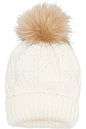 Girls Hats - Sterntaler Girl's Strickmütze Hat, - (Ecru 903)