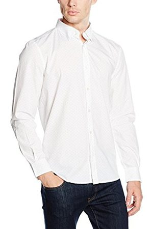 French Connection Men's Pyramid Dot Formal Shirt