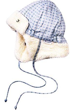 Hats - Sterntaler Baby Boys' Fliegermütze Hat, -Blau (Bleu 313)