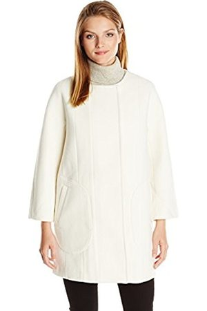 Women Coats - French Connection Women's Harbour Coating Long Sleeve Coat