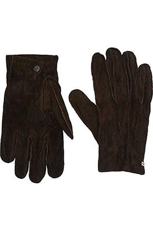 Men Gloves - HUGO BOSS Men's Gilderoy Gloves, (Dark )