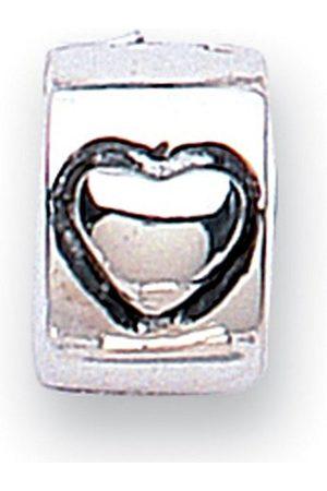 Jewellery - JoForGirlsOxidisedSilverStopperWithHeartBead