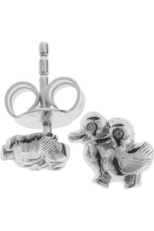 Girls Earrings - 0020263345100 Children's 'Ducks' Ear Studs 925 Sterling