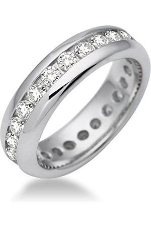 Miore Women Rings - Memoire Ladies' Ring 925 Sterling Cubic Zirconia MSM089RM