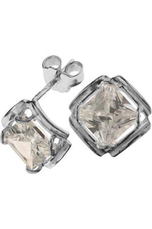 Women Earrings - 0010261642340 Cubic Zirconia Sterling 925 Stud Earrings