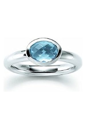 Women Rings - Ladies'Ring925SterlingSilver1SyntheticAquamarineStoneEUSize52mm(16.6)765141
