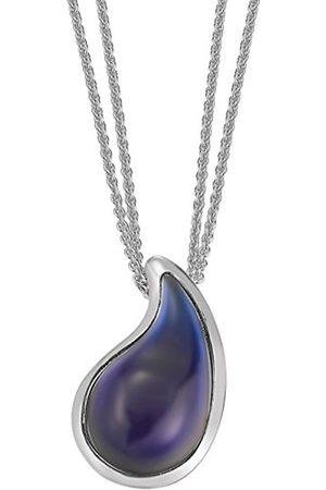 "Women Necklaces - Esprit Women ""S Chain drip drop Stainless Steel 1 Glass Stone 42–45 CM-S.ESNL11820B420"